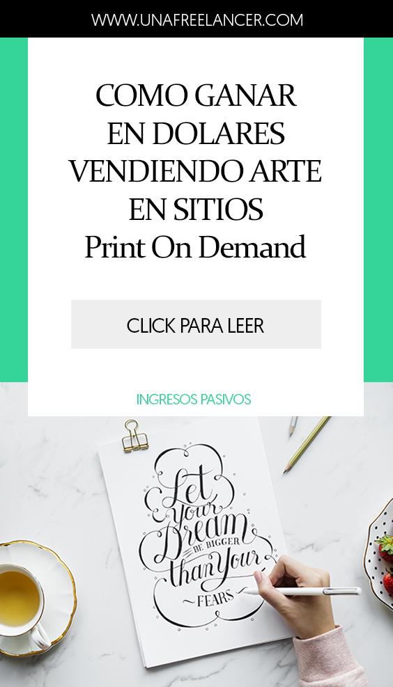 Vender arte online