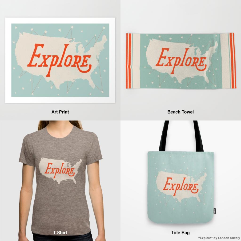 Arte aplicado a Productos en plataformas de venta online