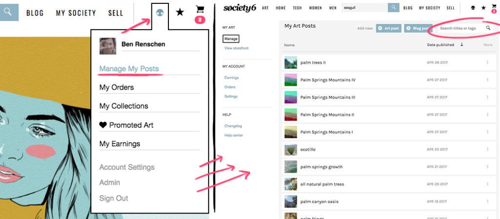 Agregar etiquetas a tus ilustraciones o fotografía
