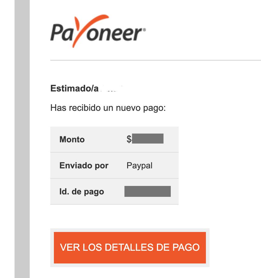 Asociar PayPal y Payoneer en 2020